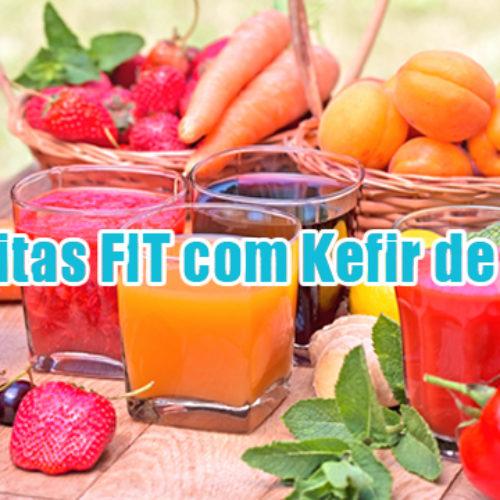 As dez melhores receitas FIT com Kefir (quefir) de água