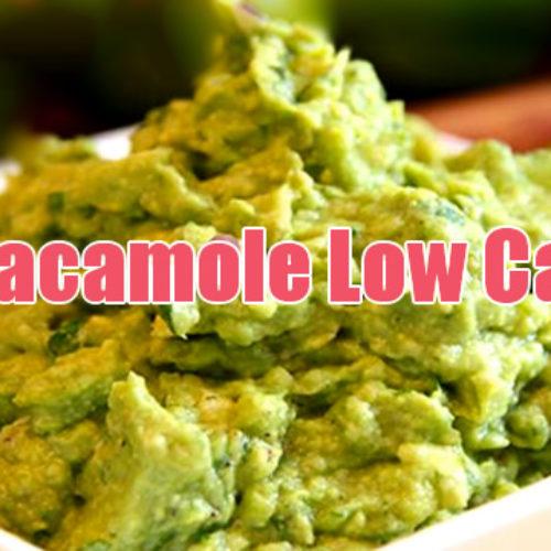 Guacamole Low Carb rico em vitaminas