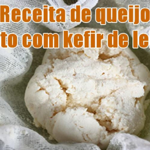 Como fazer queijo de kefir de leite