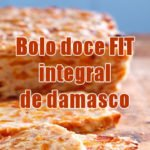 bolo fit integral damasco receitas fitness