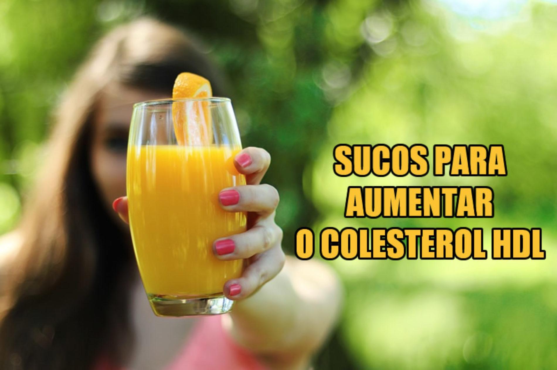 Três receitas de sucos para aumentar o colesterol BOM HDL