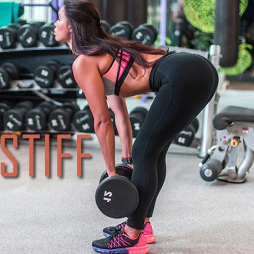 Conheça o exercício Stiff e seus benefícios