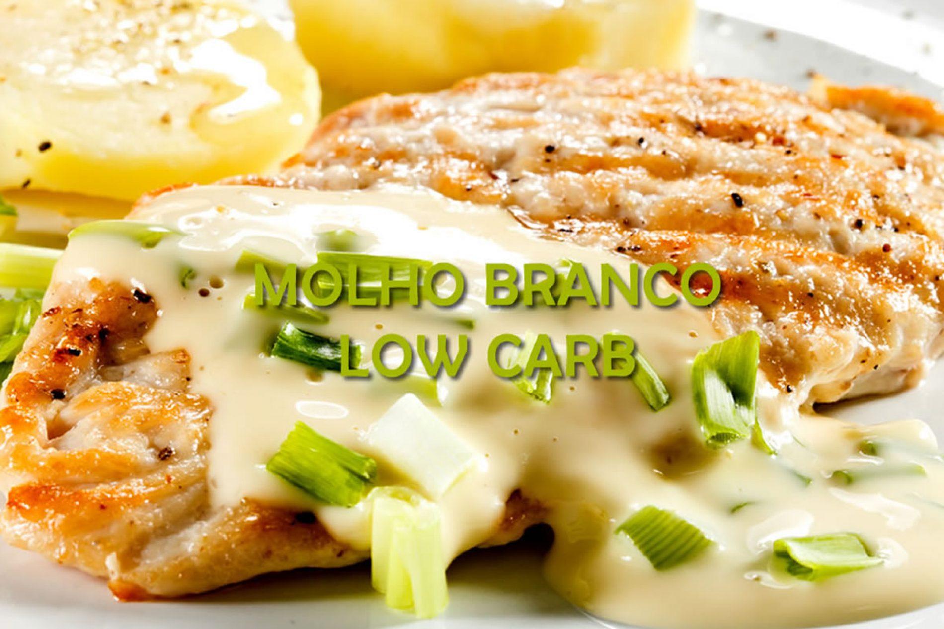 Molho branco Low Carb para carnes