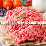 receita fitness carne moida low carb