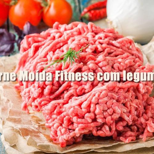 Receita de Carne Moída Fitness com legumes low carb
