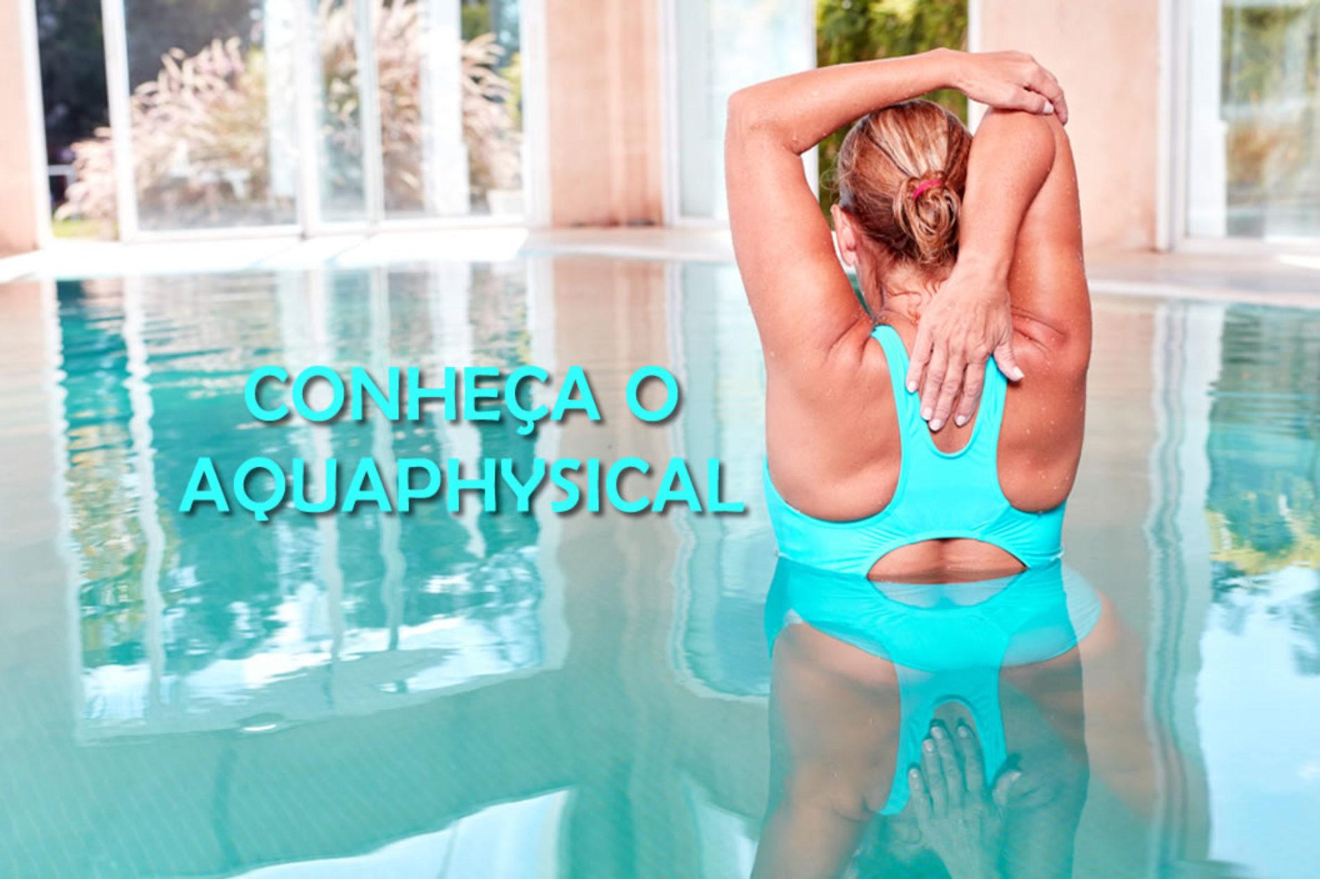 Benefícios do alongamento na água, o Aquaphysical!