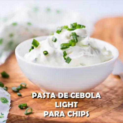 Duas receitas de Pasta de cebola light para chips FIT