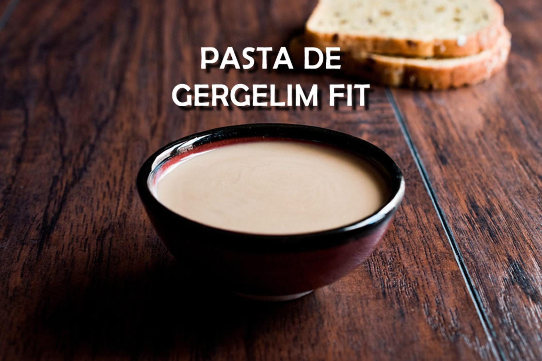 Pasta de gergelim FIT o Tahine saudável