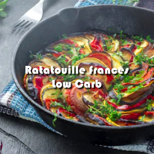 Ratatouille francês Low Carb