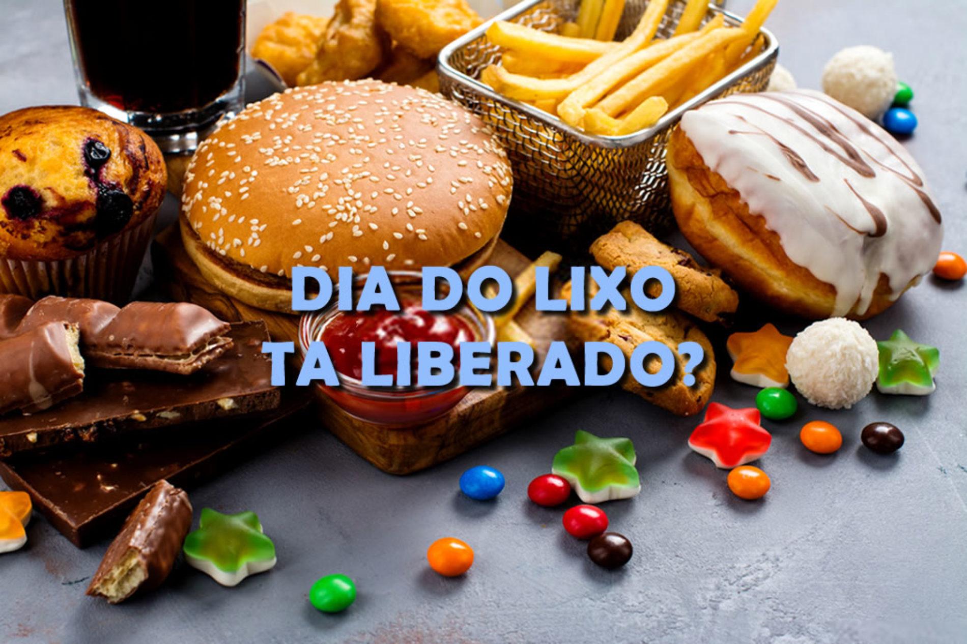 """Você faz o """"Dia do Lixo"""" em sua dieta de baixas calorias (Low Carb)?"""