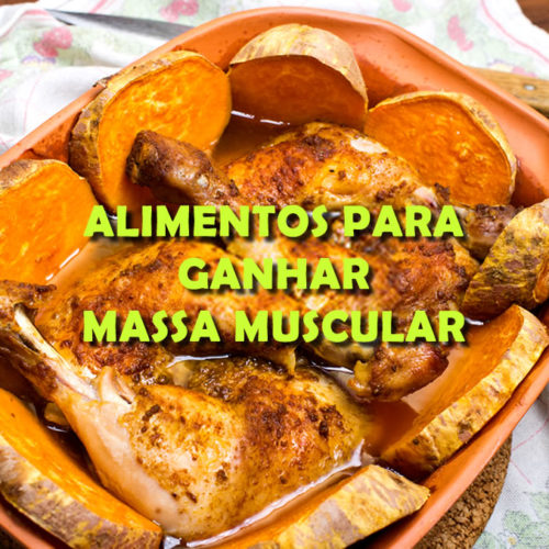 TOP 5 alimentos que ajudam a aumentar a massa muscular