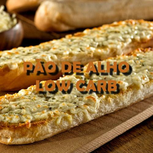 Pão de alho Low Carb com queijo para o churrasco FIT