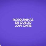 Aprenda como fazer receita fitness de rosquinhas de queijo low carb.
