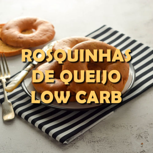 Rosquinhas de queijo Low Carb