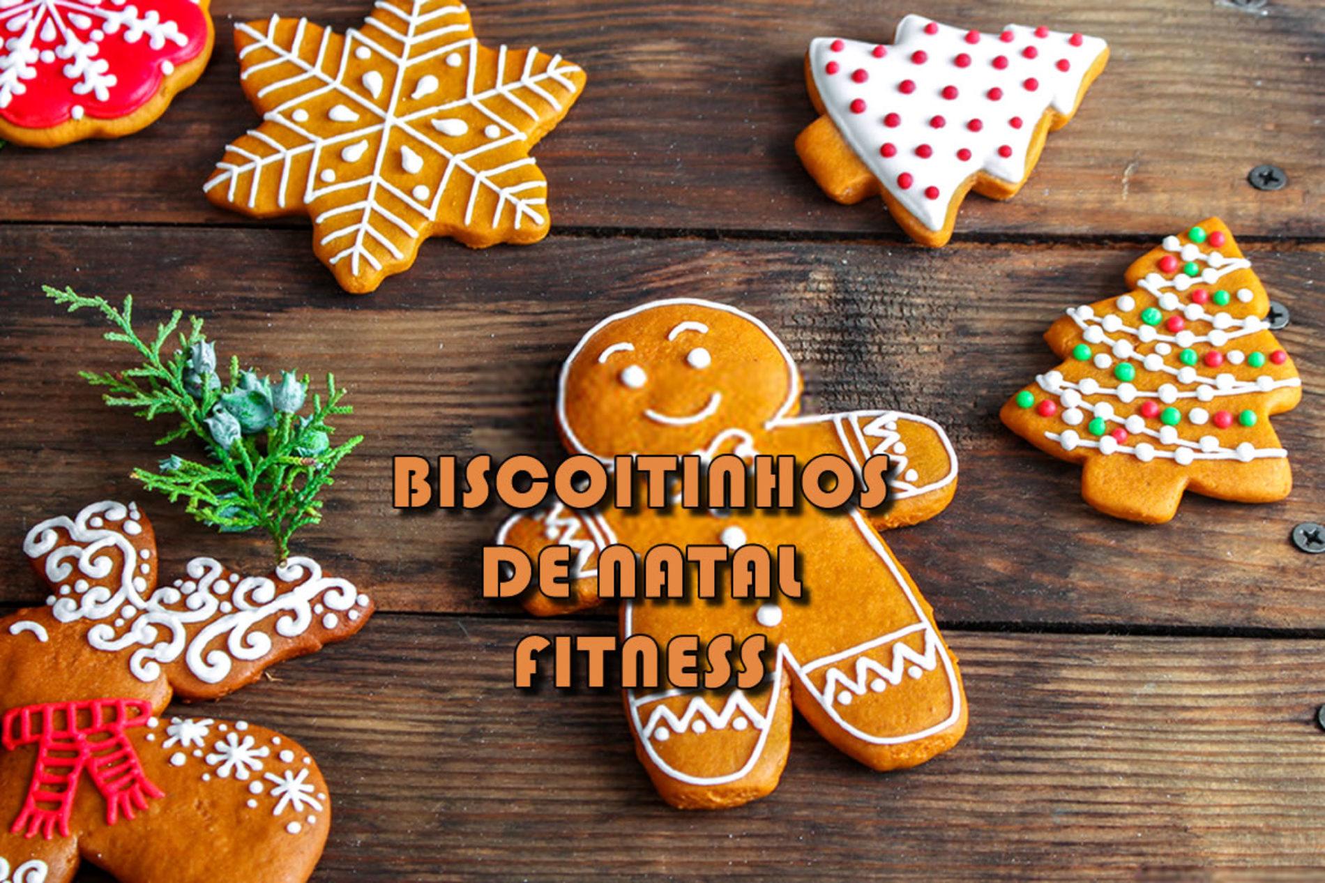 Biscoito de gengibre FIT para o natal – Gingerbread