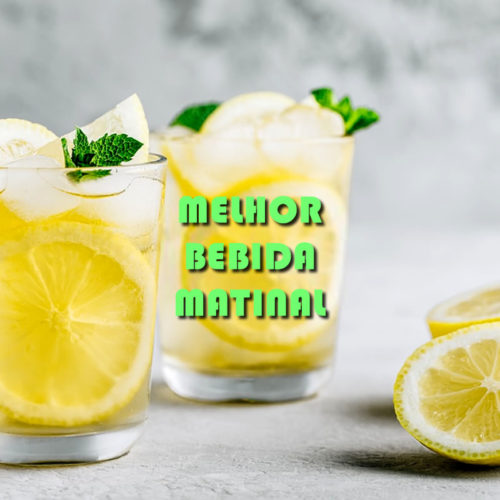 A bebida mais indicada para consumir pela manhã todos os dias