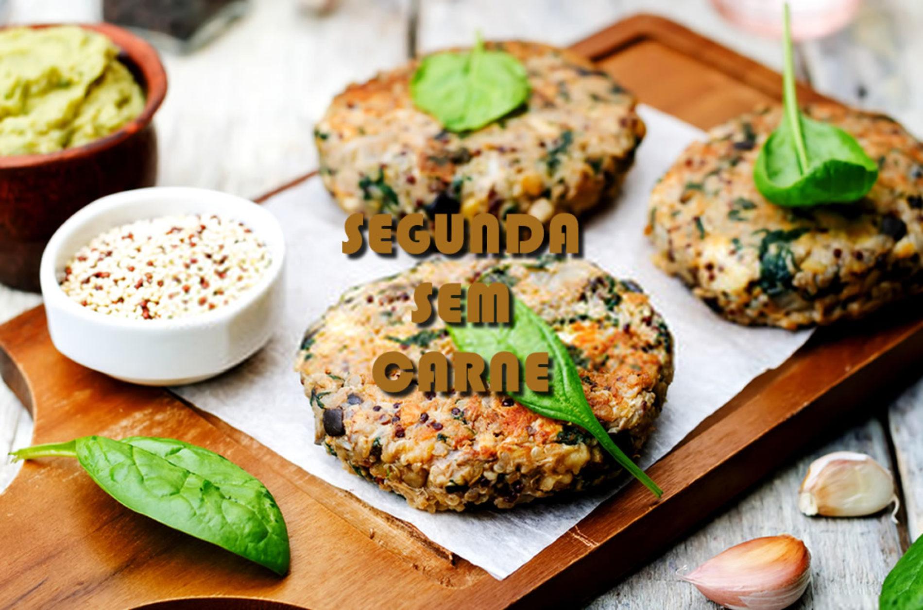 Monday without meat. Troque a proteína animal uma vez na semana