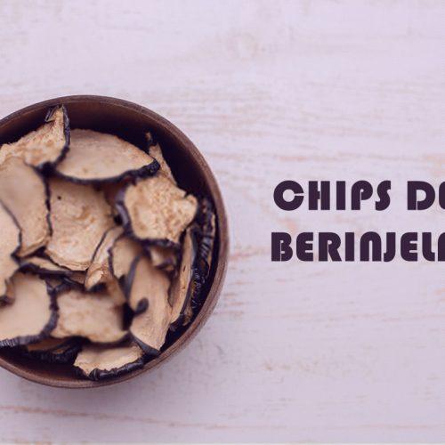 Salgadinho FIT chips de berinjela