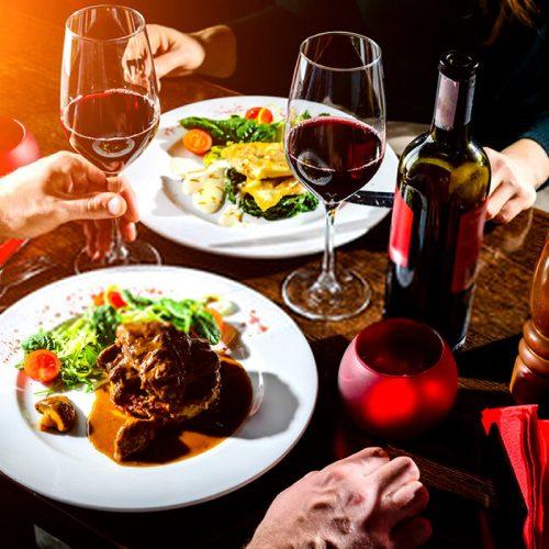 Jantar romântico fitness para o dia dos namorados