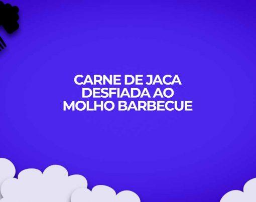carne de jaca desfiada ao molho churrasco barbecue