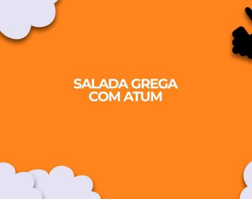 jantar rapido para dieta fitness salada grega com atum