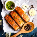 receita de salmao fitness com molho de maracuja light para dietas